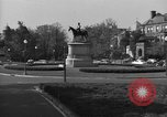 Image of Equestrian statue Washington DC USA, 1949, second 8 stock footage video 65675044867