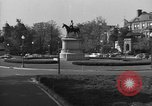 Image of Equestrian statue Washington DC USA, 1949, second 11 stock footage video 65675044867