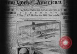 Image of Wright flyer Le Mans France, 1908, second 6 stock footage video 65675044880