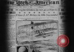 Image of Wright flyer Le Mans France, 1908, second 7 stock footage video 65675044880