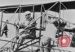 Image of Wright Flyer airplane Rheims France, 1909, second 3 stock footage video 65675044885