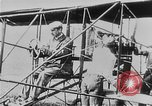 Image of Wright Flyer airplane Rheims France, 1909, second 4 stock footage video 65675044885