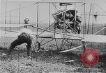 Image of Wright Flyer airplane Rheims France, 1909, second 7 stock footage video 65675044885