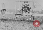 Image of Wright Flyer airplane Rheims France, 1909, second 8 stock footage video 65675044885