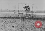 Image of Wright Flyer airplane Rheims France, 1909, second 9 stock footage video 65675044885