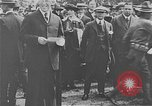 Image of inauguration of regular airmail service Washington DC USA, 1918, second 6 stock footage video 65675044888