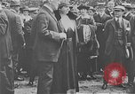 Image of inauguration of regular airmail service Washington DC USA, 1918, second 8 stock footage video 65675044888