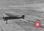 Image of circular-wing airplane Chicago Illinois USA, 1934, second 4 stock footage video 65675044898