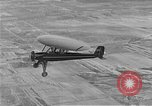 Image of circular-wing airplane Chicago Illinois USA, 1934, second 7 stock footage video 65675044898