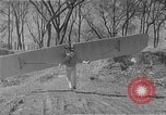 Image of man with wings on arms United States USA, 1921, second 5 stock footage video 65675044899