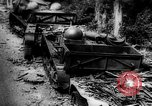 Image of Destroyed German tracked armored vehicles Europe, 1944, second 1 stock footage video 65675044911