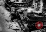 Image of Destroyed German tracked armored vehicles Europe, 1944, second 2 stock footage video 65675044911
