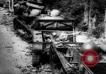 Image of Destroyed German tracked armored vehicles Europe, 1944, second 3 stock footage video 65675044911