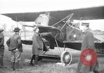 Image of American biplane aircraft World War 1 Europe, 1915, second 1 stock footage video 65675044917