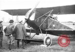 Image of American biplane aircraft World War 1 Europe, 1915, second 3 stock footage video 65675044917