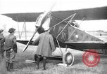 Image of American biplane aircraft World War 1 Europe, 1915, second 5 stock footage video 65675044917