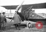 Image of American biplane aircraft World War 1 Europe, 1915, second 6 stock footage video 65675044917
