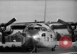 Image of Fairchild C-123 Aircraft United States USA, 1960, second 4 stock footage video 65675044936