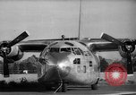 Image of Fairchild C-123 Aircraft United States USA, 1960, second 5 stock footage video 65675044936