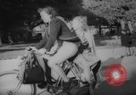 Image of Parisians on bicycles Paris France, 1946, second 8 stock footage video 65675044943
