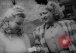 Image of Parisians Paris France, 1946, second 2 stock footage video 65675044944