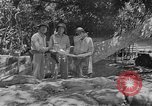 Image of General Alexander Patch Guadalcanal Solomon Islands, 1942, second 2 stock footage video 65675044979