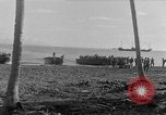 Image of American troop reinforcements and supplies  arriving on Guadalcanal Guadalcanal Solomon Islands, 1943, second 1 stock footage video 65675044980