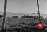Image of American troop reinforcements and supplies  arriving on Guadalcanal Guadalcanal Solomon Islands, 1943, second 2 stock footage video 65675044980