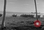 Image of American troop reinforcements and supplies  arriving on Guadalcanal Guadalcanal Solomon Islands, 1943, second 6 stock footage video 65675044980