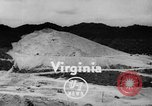 Image of blasting of rock Bristol Virginia USA, 1948, second 2 stock footage video 65675044996
