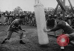 Image of Football team practices with mechanized dummies Ventura California USA, 1948, second 6 stock footage video 65675044997