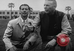 Image of Football team practices with mechanized dummies Ventura California, 1948, second 12 stock footage video 65675044997
