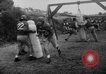 Image of Football team practices with mechanized dummies Ventura California, 1948, second 16 stock footage video 65675044997