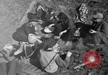 Image of freed Jews Germany, 1945, second 4 stock footage video 65675044999