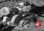 Image of freed Jews Germany, 1945, second 11 stock footage video 65675044999