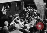 Image of freed Jews Germany, 1945, second 1 stock footage video 65675045000