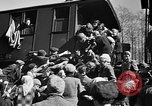 Image of freed Jews Germany, 1945, second 4 stock footage video 65675045000
