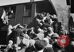 Image of freed Jews Germany, 1945, second 7 stock footage video 65675045000
