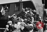 Image of freed Jews Germany, 1945, second 8 stock footage video 65675045000