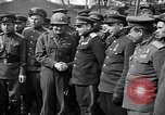Image of American Major-General Emil Reinhardt Torgau Germany, 1945, second 5 stock footage video 65675045002