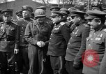 Image of American Major-General Emil Reinhardt Torgau Germany, 1945, second 6 stock footage video 65675045002