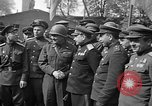 Image of American Major-General Emil Reinhardt Torgau Germany, 1945, second 9 stock footage video 65675045002