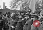Image of American Major-General Emil Reinhardt Torgau Germany, 1945, second 10 stock footage video 65675045002