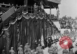 Image of French Marshall Philippe Petain dedicates American Monument Montfaucon France, 1937, second 7 stock footage video 65675045031