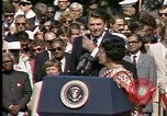 Image of Indira Gandhi United States USA, 1982, second 2 stock footage video 65675045032