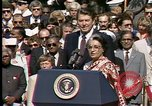 Image of Indira Gandhi United States USA, 1982, second 8 stock footage video 65675045032
