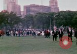 Image of Democratic National Convention 1968 protests and demonstrators Chicago Illinois USA, 1968, second 11 stock footage video 65675045053