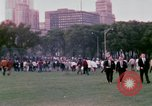 Image of Democratic National Convention 1968 protests and demonstrators Chicago Illinois USA, 1968, second 12 stock footage video 65675045053