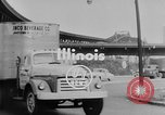Image of trucking by rail Illinois United States USA, 1953, second 2 stock footage video 65675045089