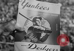 Image of 1953  world Series NY Yankees vs Brooklyn Dodgers New York United States USA, 1953, second 7 stock footage video 65675045090